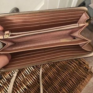 kate spade Bags - Rose gold Kate Spade purse AND wallet!